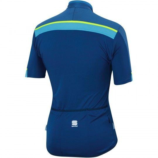 Sportful PISTA Radtrikot blau 2