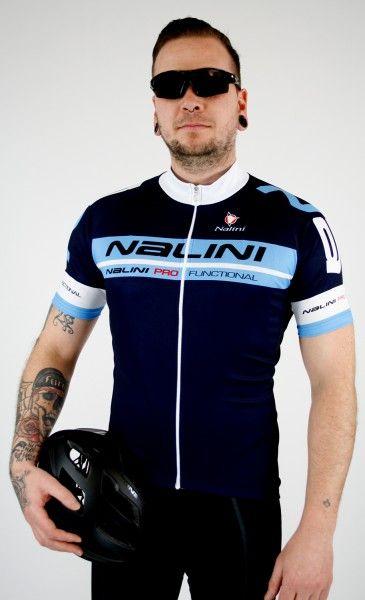 Nalini KENTY short sleeve cycling jersey navy (E19-5291S)