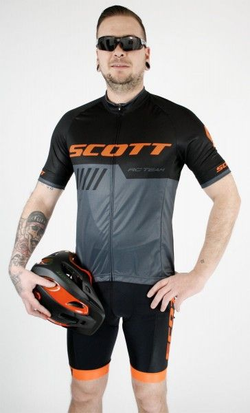 Studiobild Scott RC TEAM 10 Radsport-Set schwarz/orange