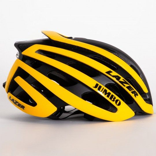 Team JUMBO - Visma 2019 Fahrradhelm gelb/schwarz - Lazer Z1 - 2