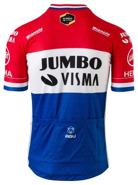 Team Jumbo - Visma niederländischer Meister 2020 Radtrikot 2