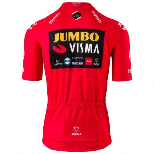 Team Jumbo Visma Vuelta Sieger 2020 Radtrikot kurzarm 2