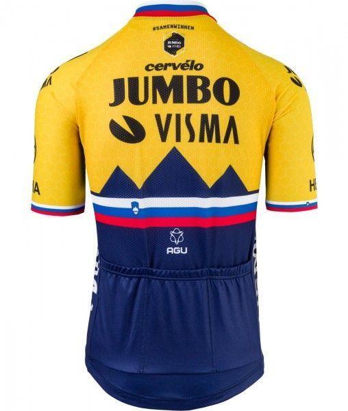 TEAM JUMBO - VISMA slowenischer Meister 2021 Radtrikot 2