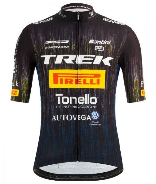 TEAM TREK - PIRELLI 2021 set (jersey + bib shorts) - Santini professional cycling team