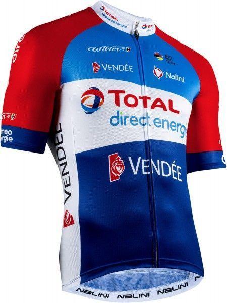Total Direct Energie 2020 Radsport Kurzarmtrikot 1