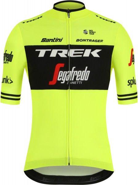 Trek - Segafredo 2019 training edition Radtrikot kurzarm gelb 1