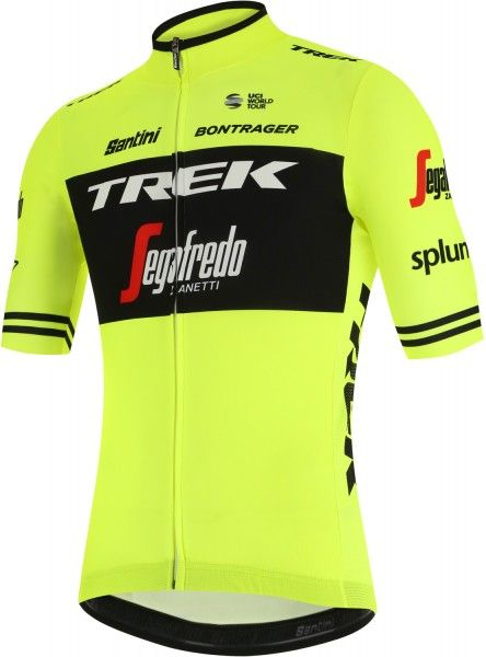 TREK - SEGAFREDO 2019 training edition Radtrikot kurzarm (langer Reißverschluss) - Santini Radsport-Profi-Team Größe XXL (6)