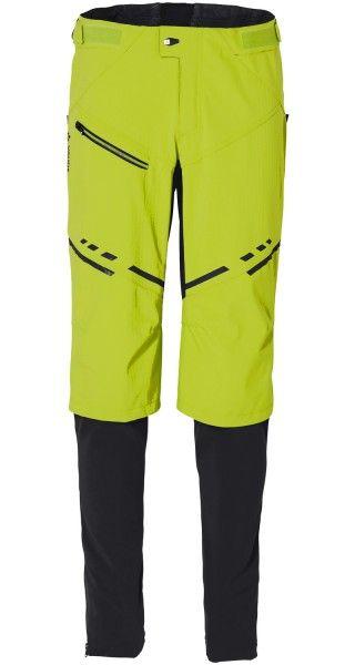 Vaude VIRT Softshell Pants II Radhose lang chute green 2