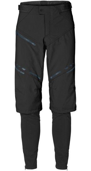 Vaude VIRT Softshell Pants II Radhose lang schwarz 2