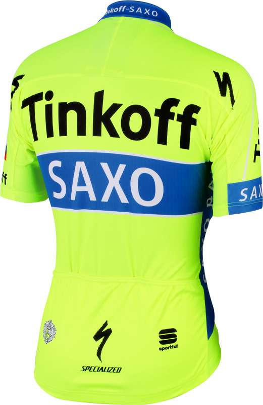 TINKOFF-SAXO 2015 Set (jersey + strap trousers) - Sportful professional  cycling team. Previous 8e096a928