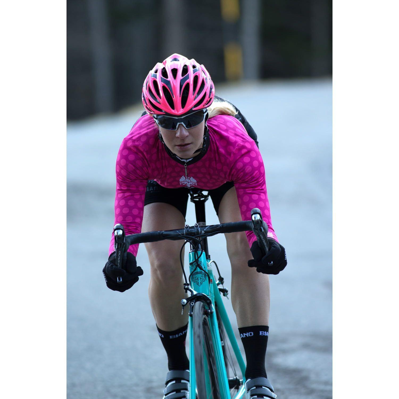 5daf6e972 Actionbild 3 Bianchi Milano TERMENO Damen Langarmtrikot pink. Next