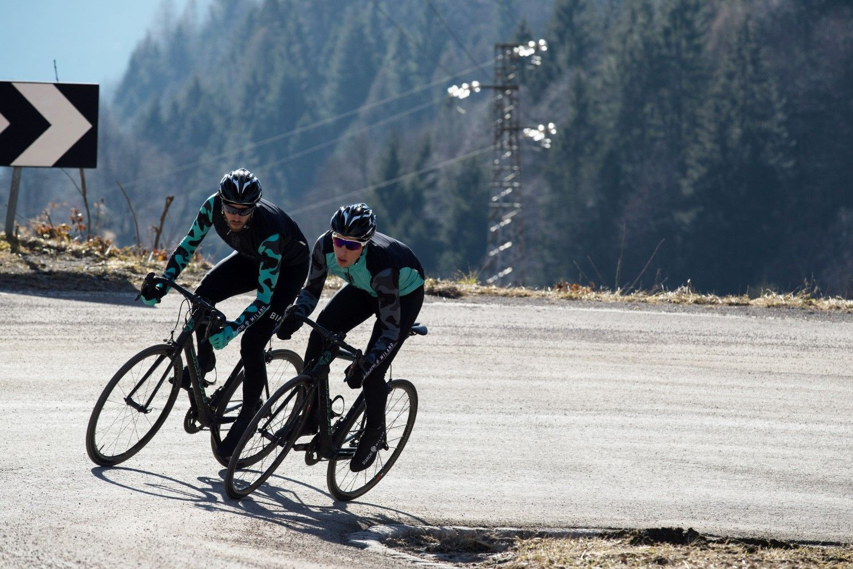 Bianchi Milano Brennero long sleeve cycling jersey black celeste  (I18-4300). Next c71a37971