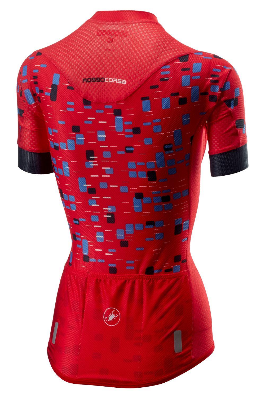 1c6423dff Castelli CLIMBER S womens short sleeve cycling jersey hibiscus. Next