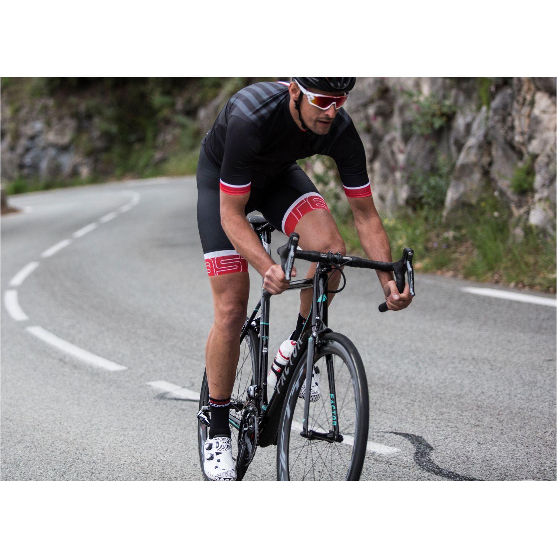 eeff957c0 Castelli PODIO DOPPIO - short sleeve cycling jersey black. Next