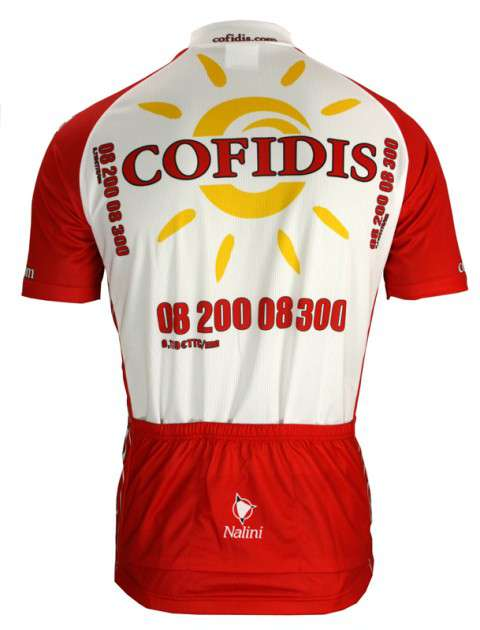 Cofidis 2009 Nalini professional cycling team - tricot (jersey short sleeve  - long zip). Next a4684823b