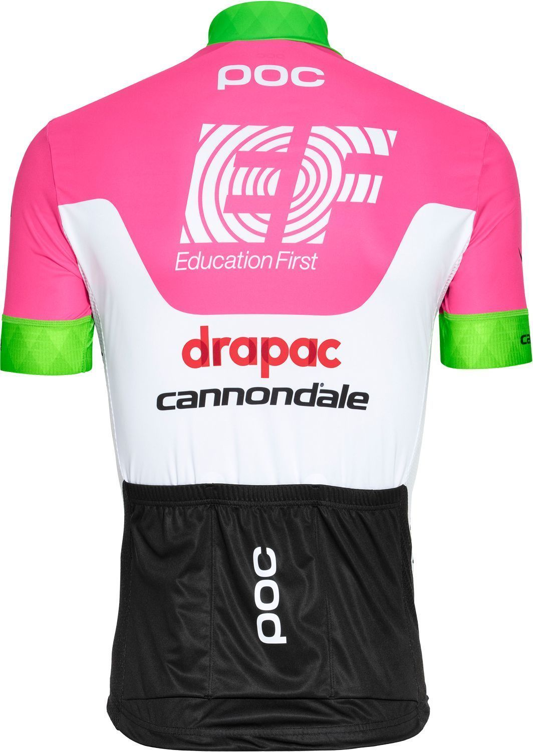 06ca72a4d EF Education First - Drapac 2018 cycling jersey (long zip) - POC  professional cycling. Next