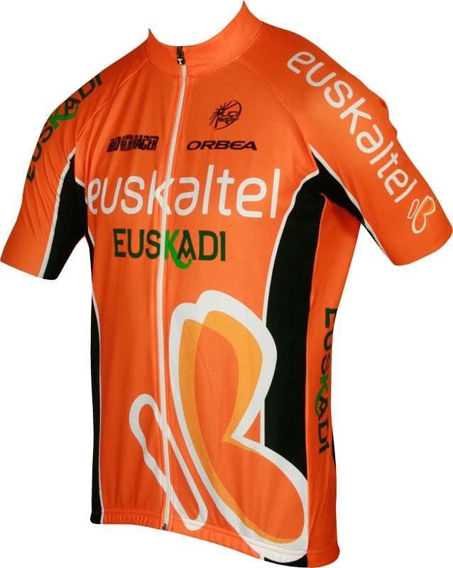 7562c2bd7 Previous. EUSKALTEL EUSKADI 2013 BioRacer professional cycling team -  cycling set - jersey + strap trousers
