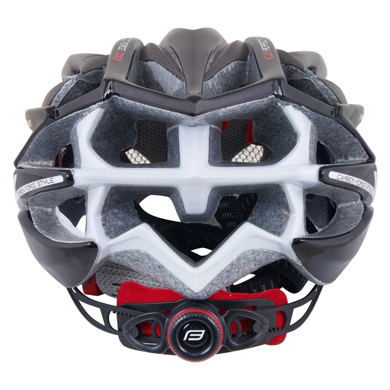 Force ARIES CARBON Cycling Helmet Black/grey (902940 41)