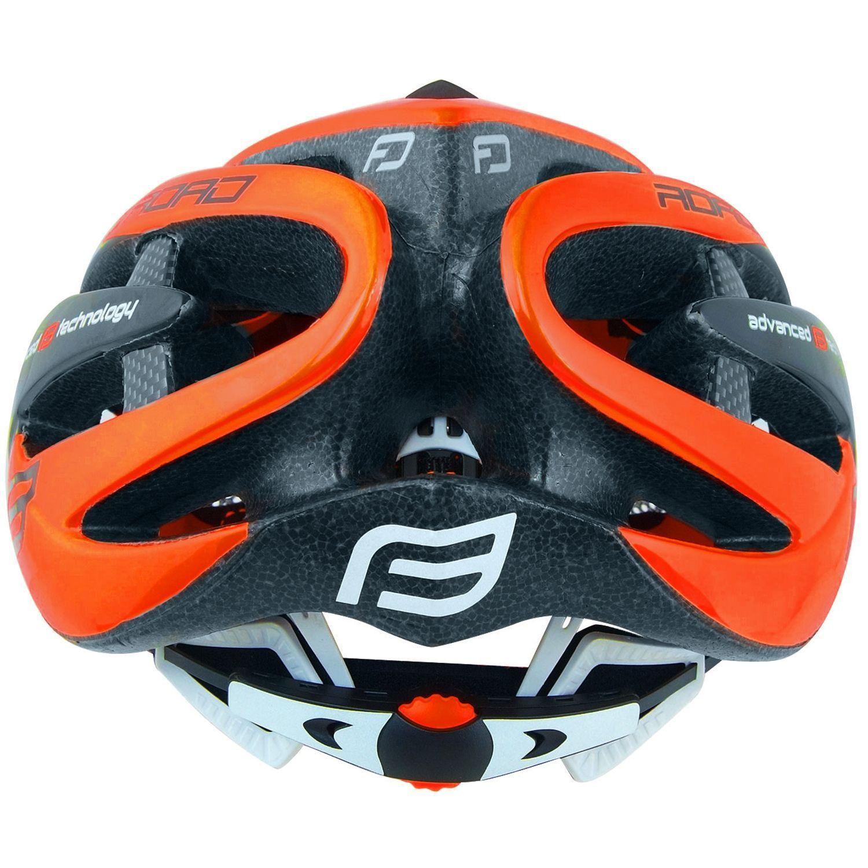 Trikotexpress Force Road Cycling Helmet Fluo Orange