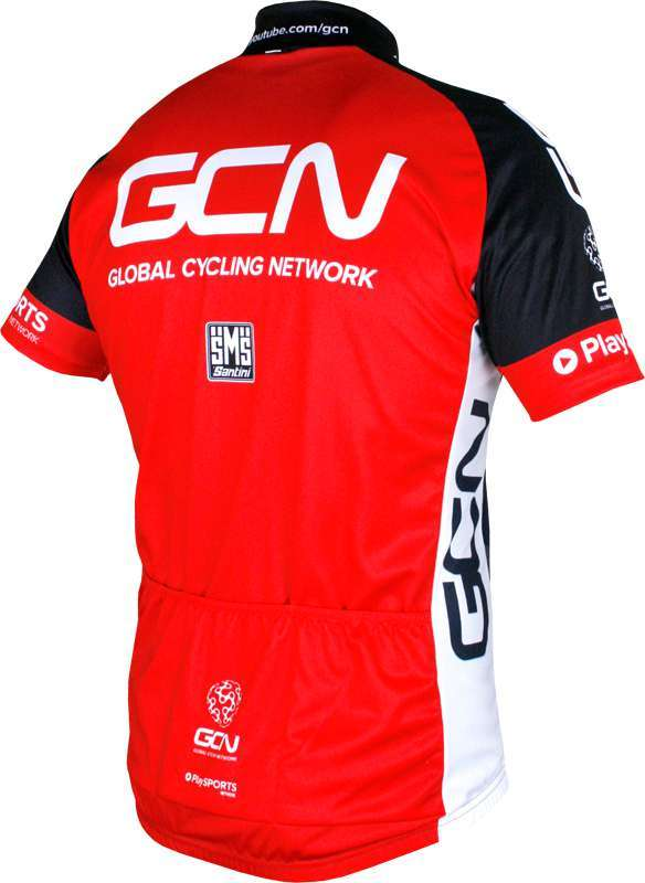 GLOBAL CYCLING NETWORK 2016 set (jersey + strap trousers) - Santini cycling-team.  Next 6f9eb9d6b