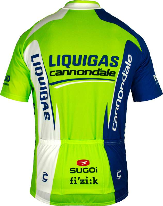 80ea596e1 LIQUIGAS CANNONDALE 2012 Sugoi professional cycling team - cycling jersey  with long zip. Next