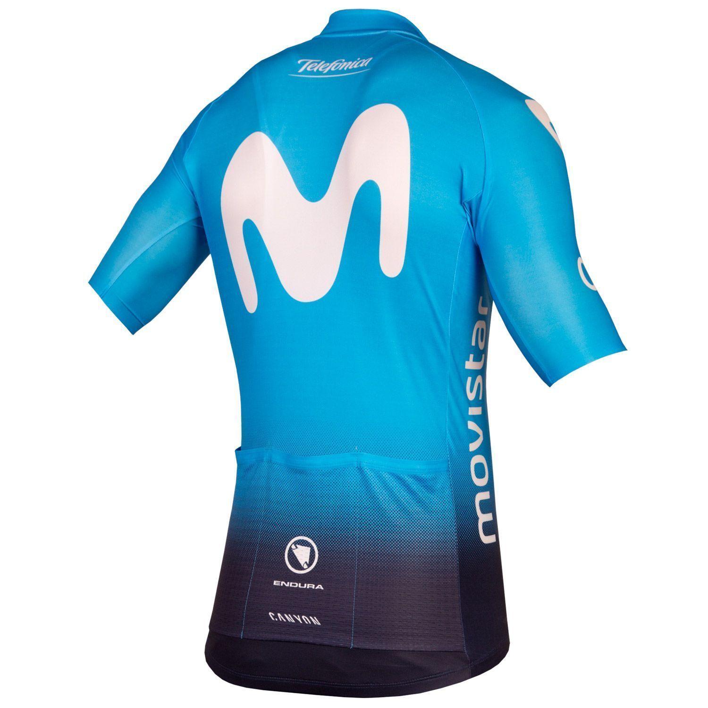 MOVISTAR 2018 set (jersey + bib shorts) - Endura professional cycling team.  Next 48c9e8e9b