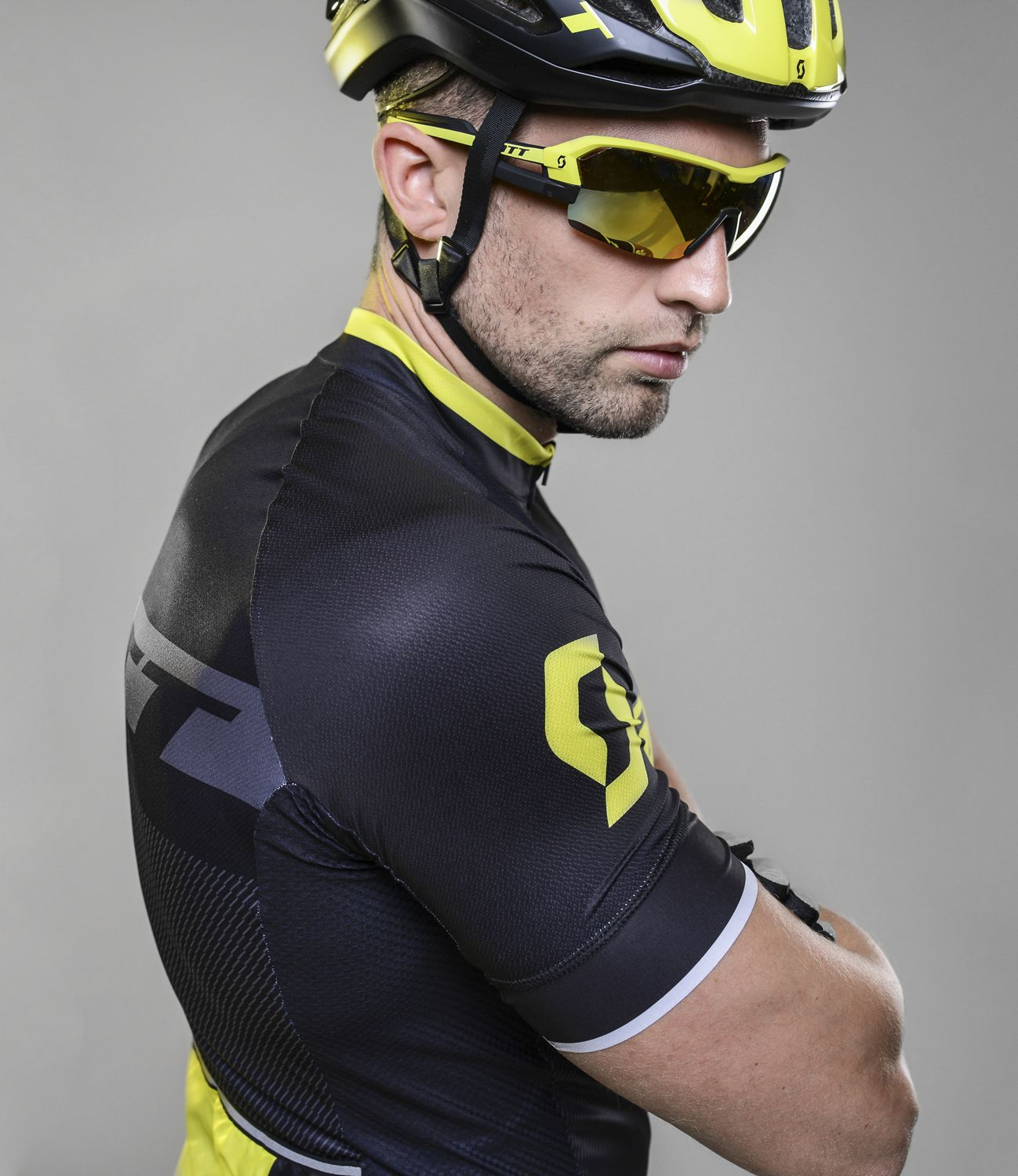 82bbb6a45 ... short sleeve cycling jersey black sulphur yellow (264821). Previous