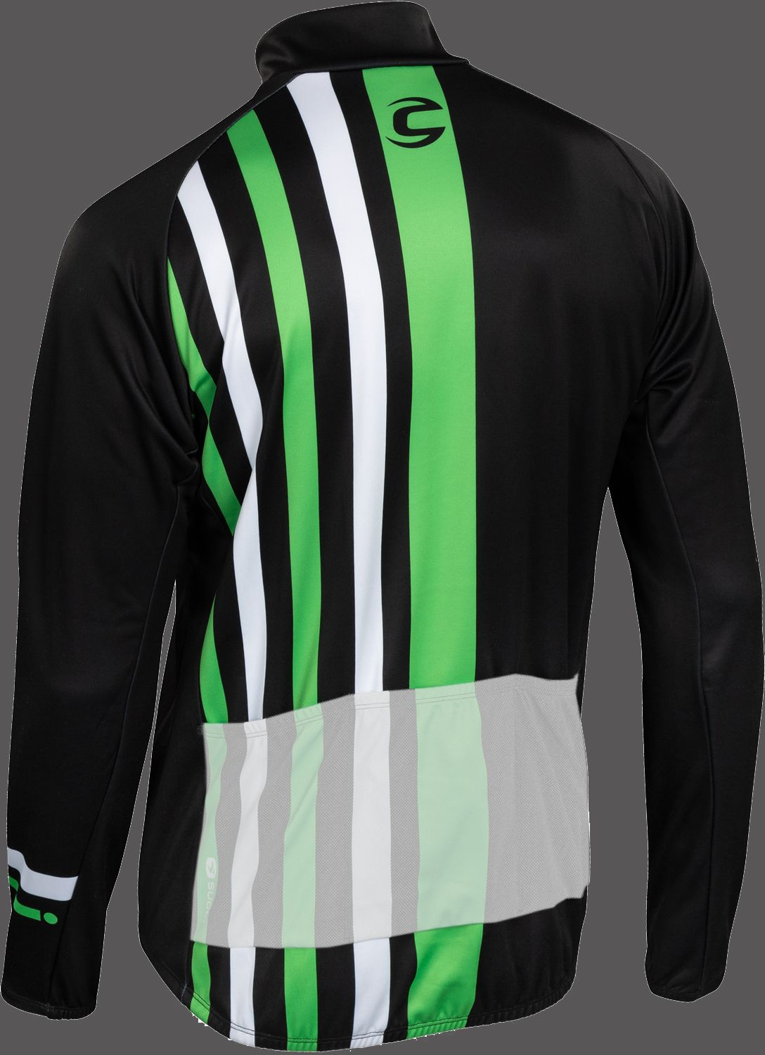 ce4c03c64 Cannondale EVOLUTION ZAP long sleeve cycling jersey black green by Sugoi.  Next