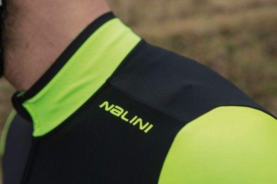 Nalini PRO Pro Gara Jersey Radtrikot Langarm schwarz/gelb (I18-4050)