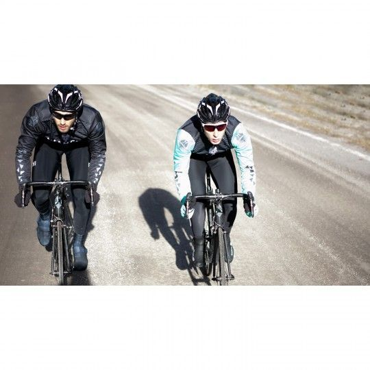Actionbild2 Bianchi Milano VADENA Full Season Fahrrad Überschuhe