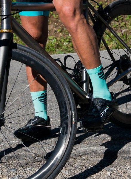 Actionbild2 Nalini TOPEKA Fahrradsocken celeste