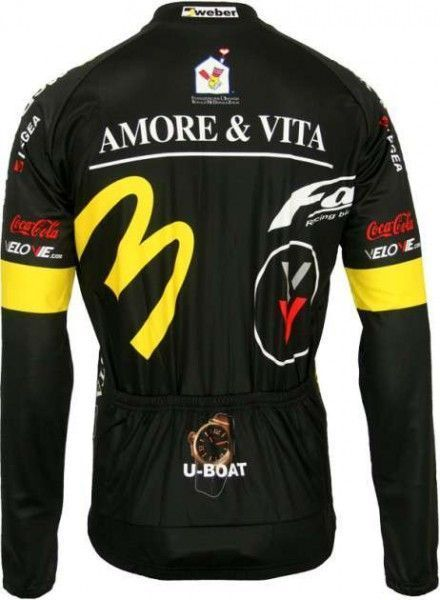 Amore & Vita Biemme professional cycling team - cycling long sleeve jersey