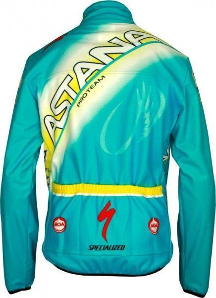 ASTANA 2013 MOA Radsport-Profi-Team - Radsport-Winterjacke