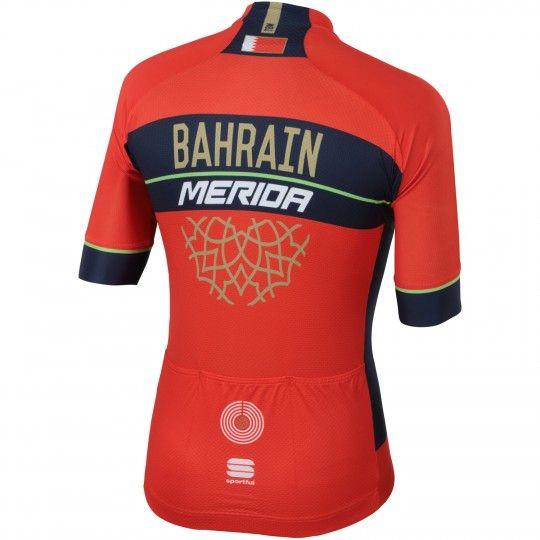 BAHRAIN MERIDA 2018 Radtrikot 2