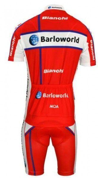 Barloworld 2009 Nalini Radsport-Profi-Team - Radsport-Set (Trikot mit kurzem Reißverschluss) Größe XL (5)