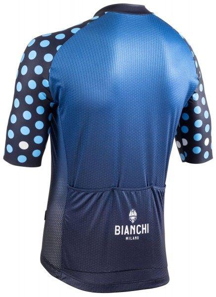 Bianchi Milano Cedrino Radtrikot kurzarm blau 4250 2