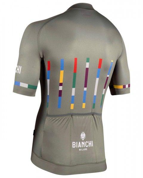 Bianchi Milano FANACO Fahrrad Kurzarmtrikot olivgrün 2