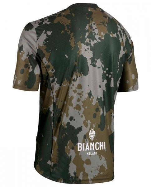 Bianchi Milano POZZILLO MTB Kurzarmtrikot olivgrün/camo 2