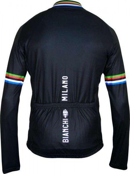 Bianchi Milano Langarmtrikot LEGGENDA schwarz 3