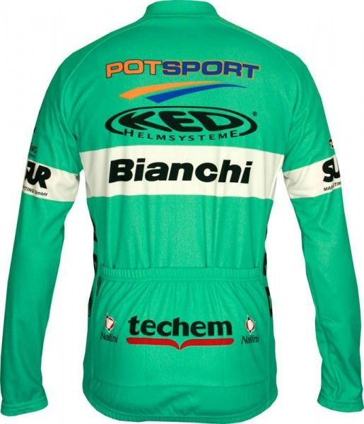 BIANCHI BERLIN long sleeve jersey - Nalini professional cycling team