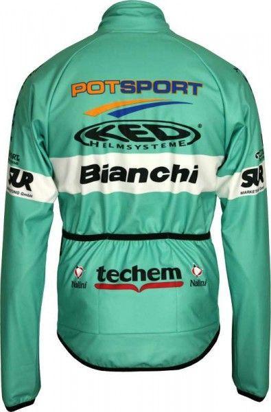 BIANCHI BERLIN Fahrrad Winterjacke - Nalini Radsport-Profi-Team