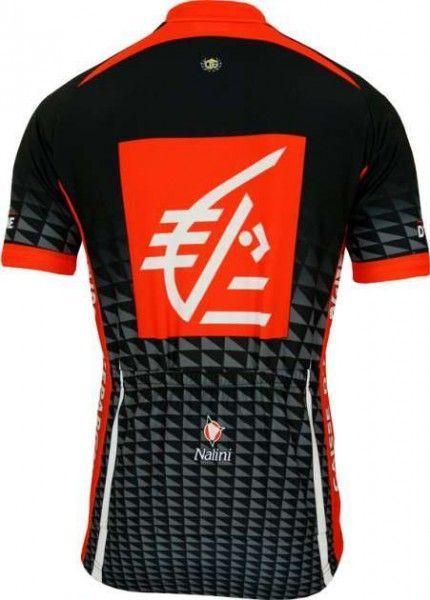 Caisse d'Epargne 2010 Nalini Radsport-Profi-Team - Kurzarmtrikot mit kurzem Reißverschluss