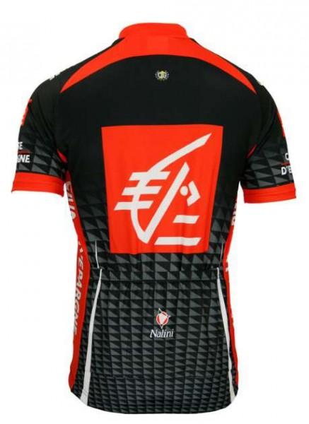 Caisse d'Epargne 2010 Nalini Radsport-Profi-Team - Trikot (Kurzarmtrikot, langer Reißverschluss)