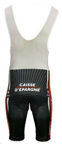 Caisse d'Epargne 2010 Nalini Radsport-Profi-Team - Radsport-Trägerhose Größe XL (5)