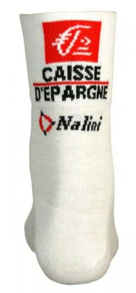 Caisse d'Epargne 2010 Nalini professional cycling team - cycling coolmax socks
