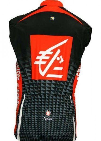 Caisse d'Epargne 2010 Nalini Radsport-Profi-Team - Radsport-Wind-Weste