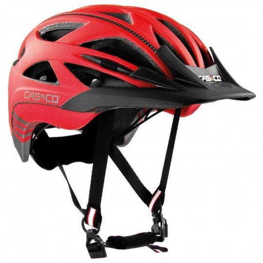 Casco ACTIV 2 Fahrradhelm rot/anthrazit matt 2