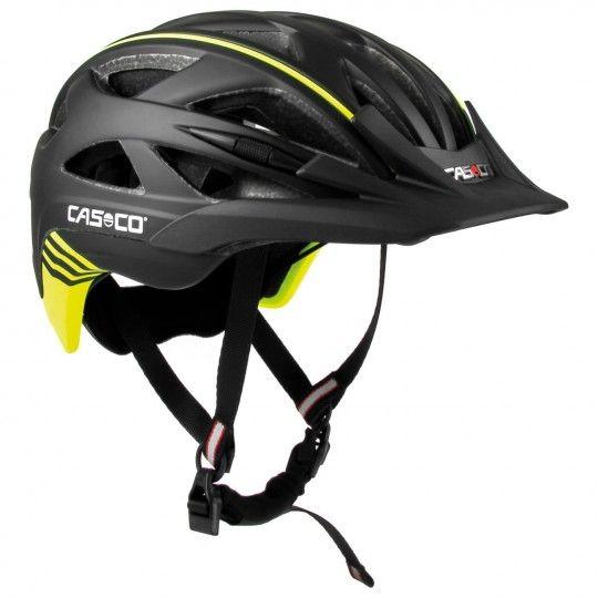 Casco ACTIV 2 Fahrradhelm schwarz/neongelb 2