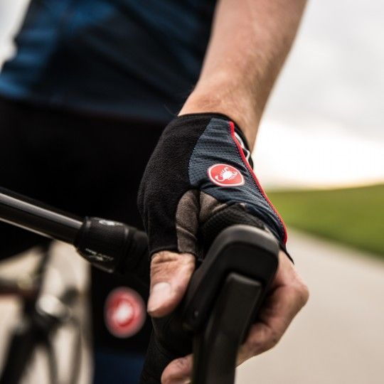 Castelli CIRCUITO - Fahrradhandschuhe kurzfinger schwarz Größe L
