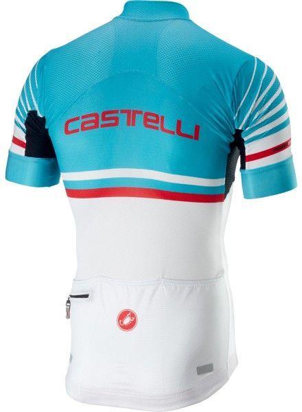 Castelli FREE AR 4.1 Radtrikot kurzarm sky blue/weiß 2